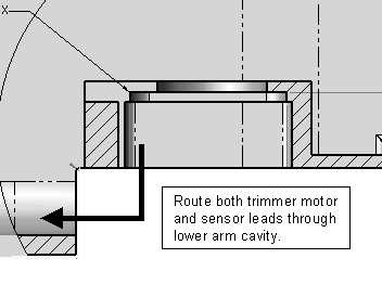 Trimmer Motor Harness